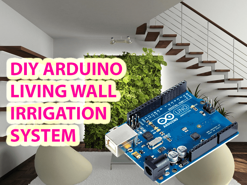 Arduino Watering System Prototype - DIY Living Green Wall