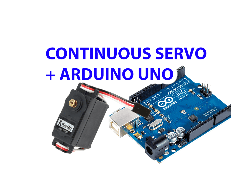 Arduino Continuous Rotation (360 degree) Servo Driver Implementation